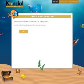 Kendal Aquatics Online Quiz and Certificate